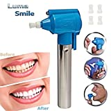 #9: PrimeBox Portable Tooth Polisher Whitener Stain Remover With Led Light Luma Smile Rubber Cups by Gooseberry