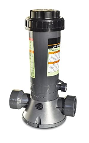 Hydro Tools 87501 Economy In-Line Above-Ground Pool Automatic Chlorine Feeder