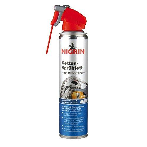 Nigrin Kettensprühfett 400ml Motorrad Spray Kettenfett Kettenöl Ketten Sprühfett