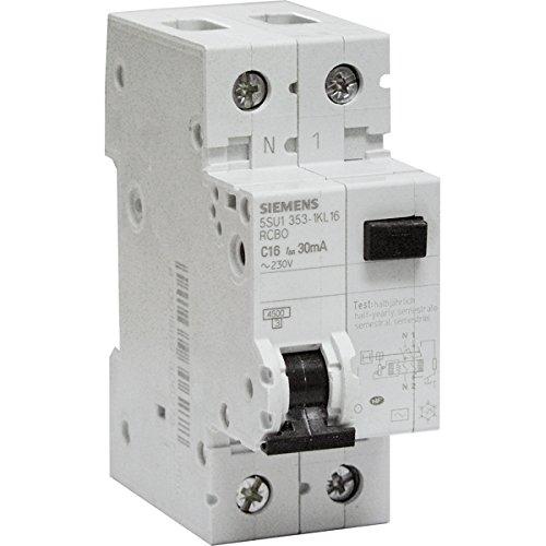 Interruttori magnetotermici differenziali 30 mA 16 A Tipo AC