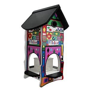 habau 3133 futterhaus villa bunt nummer 1 haustier. Black Bedroom Furniture Sets. Home Design Ideas