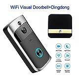 Best Wireless Doorbells Video - WiFi Video Doorbell, Wireless Smart Doorbell 720P Review