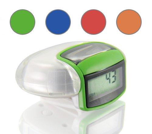 Incutex solar Schrittzähler mit LCD Display Grün
