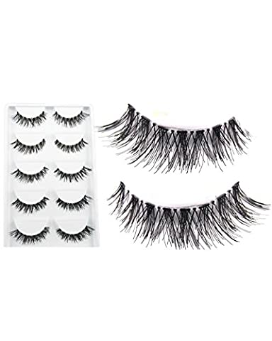 SAMGU Curl Thick False Eyelashes Mink Eyelash Faux Cils Lashes Makeup For Party Daily Cosmétique