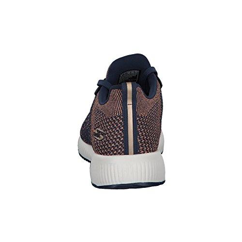 Skechers Damen Bobs Squad-Hot Spark Slip On Sneaker Blau (Navy)
