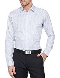 STOP Mens Regular Collar Stripe Shirt___203214003_9308