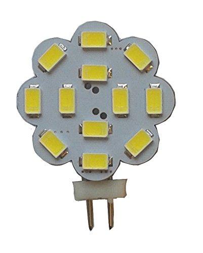 G4 LED 360Lumen 3W 12V tageslichtweiss 6000K 12x 5630er LEDs der neuesten Generation auch für Wohnmobil geeignet (8V - 30V)