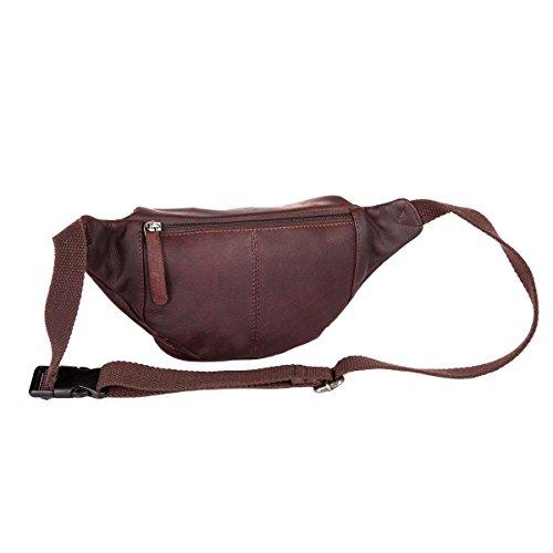 The Chesterfield Brand Jack Gürteltasche Leder 22 cm brown