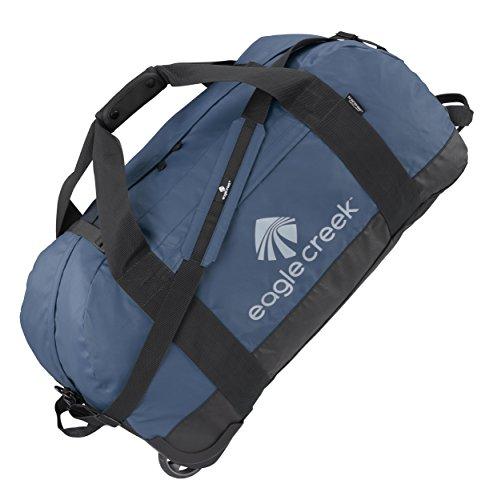 Eagle Creek Ultraleichte Reisetasche Sporttasche mit Rollen No Matter What Rolling Duffel, 76 cm, 105 L, Slate blau