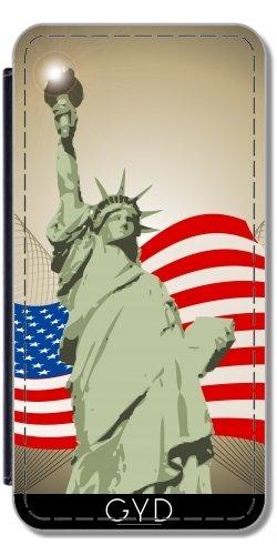 Coque pour Iphone SE - La Statue De La Liberté by nicky2342 Simili-Cuir