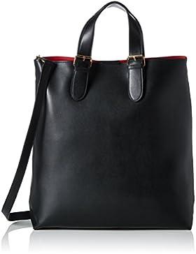 PIECES Damen Pcnuna Shopper Henkeltasche, Schwarz (Black), 12 x 39 x 36 cm