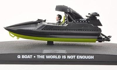 Q Boat schwarz, James Bond 007, schwarz, Modellauto, Fertigmodell, SpecialC.-007 1:0 von SpecialC.-007