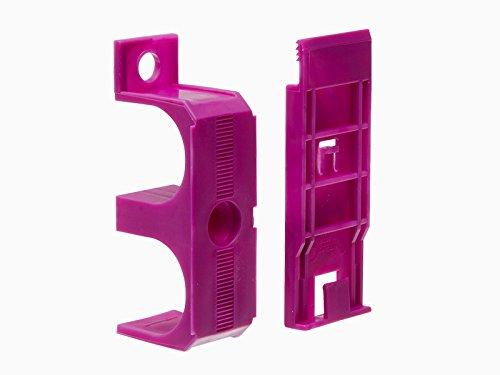 Befestigungsschellen für Rohrverkleidungsleiste 45 x 110 mm (4-er Pack)