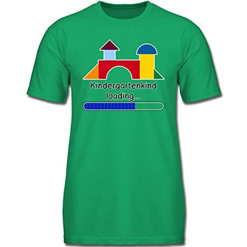 Kindergarten - Kindergartenkind Loading - 152 (12-13 Jahre) - Grün - F130K - Jungen Kinder T-Shirt -