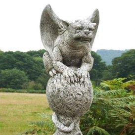 Gartentraum Mystische Stein Drachen Gavin - Fiona Jane Scott, Antikgrau (Jane Drache)