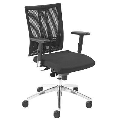 Bürostuhl Net-Motion schwarz (@-MOTION ST33-POL R15K-CR EST EF019 ESH)
