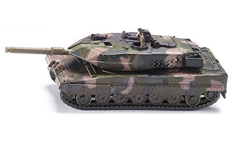 SIKU 1867, Panzer, Metall/Kunststoff, 1:87, Kettenfahrzeug, Aufkleberbogen, Tarnfarben -