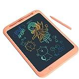 LIUJING LIUJING LCD Writing Tablet, 12-Zoll-Kinder Und Erwachsene Elektronische Schreibtafel, Wasserdicht Und Umweltfreundlich Für Home School Office-Graffiti Aufzeichnungen,Orange