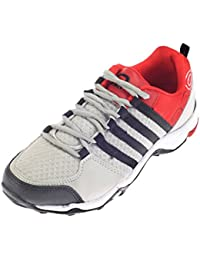 Pro (from Khadims) Mens Textile/Mesh Sports Sneakers - B078JR4J44