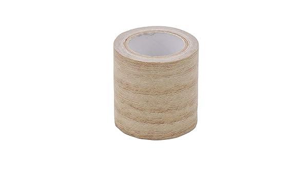 siwetg 5M//Roll Realiic Woodgrain Repair Adhensive Duct Tape 8 Colors For Furniture Artificial Wood Grain Furniture Repair Tape