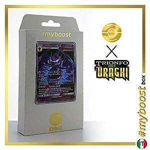 Naganadel-GX SM125 - #myboost X Sole E Luna 7.5 Trionfo dei Draghi - Box de 10 Cartas Pokémon Italiano