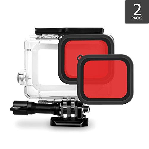iTrunk Roter Filter für iTrunk GoPro Hero 6 Hero 5 Gehäuse (2Stk.) Test