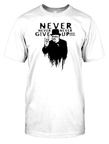 mens-t-shirt-dtg-print-winston-churchill-salute-ww2-famous-faces-white-mens-42-44-l