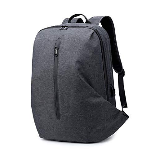 lailongp Anti-Theft Men USB Charging Port Backpack Laptop Notebook Travel School Bag College Bookbag -