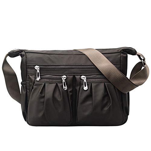 - Brown-leder-handtasche Geldbörse Tasche (guang Satchel Umhängetaschen Frauen Umhängetasche Weiche PU Leder Geldbörsen und Handtaschen Multi Pocket Umhängetasche,Brown)