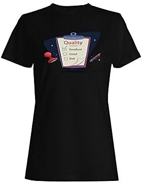 Control de calidad camiseta de las mujeres b166f