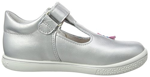 Ricosta Candy, Mary Jane fille Argent (Silber 412)