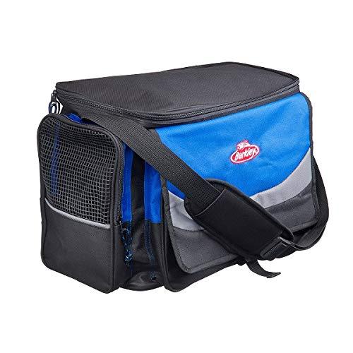 BERKLEY TASCHEN MIT KÖDERBOXEN System Bag XL BLUE-GREY -BLACK + 4 Boxen