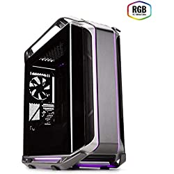 Cooler Master - Cosmos C700M - Boitier PC Gaming (Grande Tour E-ATX, Panneau En Verre Trempé, 4xVentilateurs De 140 mm) - Aluminium