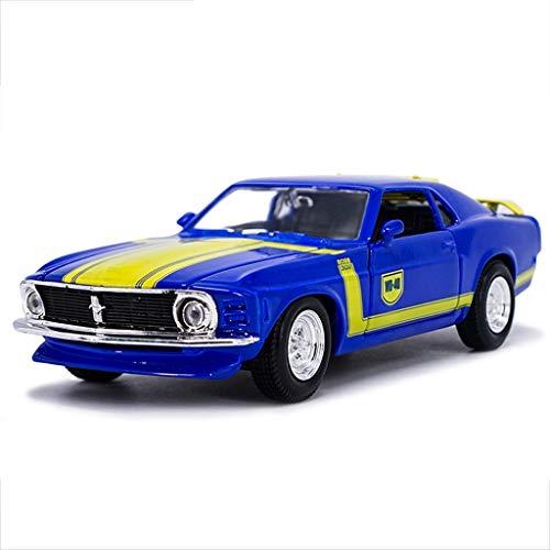 JIANPING Auto Modello Auto 1:24 Ford Mustang GT 1967 Lega di Simulazione Die-Casting Giocattolo Gioielli Auto Sportiva Collezione di Gioielli 24x13x10 CM Modello di Auto