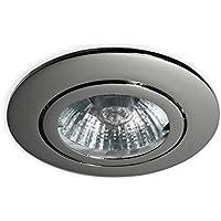 12V MR16 Einbaustrahler 906 für LED Halogen Leuchtmittel Lampen Spots schwenkbar