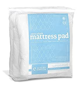 Extra Plush Quilted Fitted Mattress Topper Mattress Pad