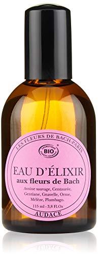 Elixirs & Co Eau d'Elixir Audace Eau de toilette Stimulante aux Fleurs de Bach BIO 115 ml