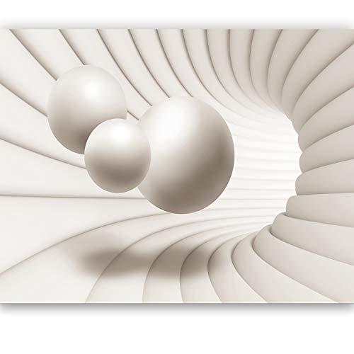 murimage Papier Peint Effet 3D 366cm x 254cm Photo Mural balles l'espace Art Abstrait Architecture Cuisine Jeunesse Wallpaper Colle Inclus