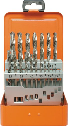 Projahn Bohrerkassette HSS-G 19-teilig Durchmesser 1-10 mm um 0,5 Eco 60315