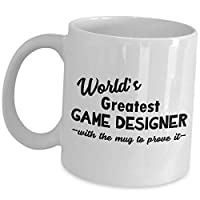 Gifts for Video Game Designer - Worlds Greatest...