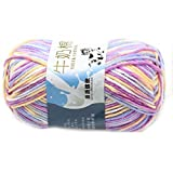 Lisse Knitting Doux Lait Coton Naturel Laine Yarn Baby Ball Wool Craft-Colorful