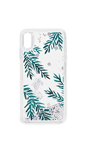 Kate Spade New York Holly Liquid Glitter iPhone Xs Max Case, Multi, One Size -