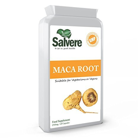 Maca Root Capsules 2500mg for Menopause Symptoms & Healthy Menstrual Cycle, Helps to Maintain Normal Hormone Balance & Alleviates Mood Swings, Menstrual Cramps & Mood Disorders, Increased Fertility in Both Men & Women, Most Trusted