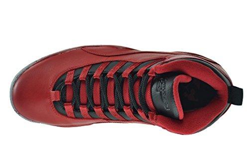 Nike Herren Air Jordan 10 Retro 30TH Turnschuhe gym red/black-wolf grey