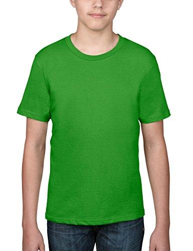 anvil-maglietta-regular-fit-colletto-tondo-manica-corta-bambino-verde-grun-gap-green-apple-140-cm