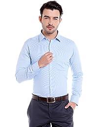 Donear NXG Mens Formal Shirt_SHIRT-1314-BLUE