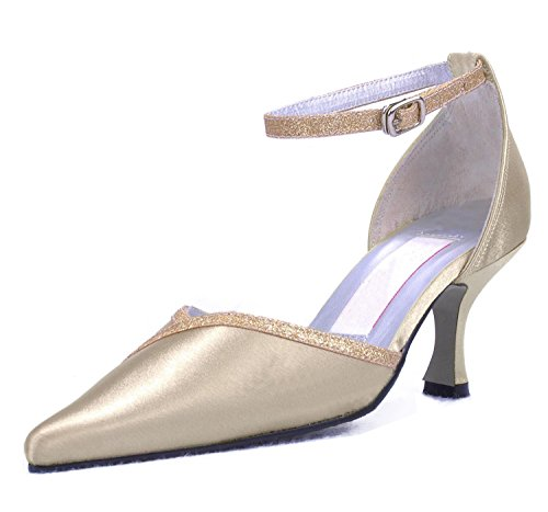 Kevin Fashion , Chaussure de mariée fashion femme Marron