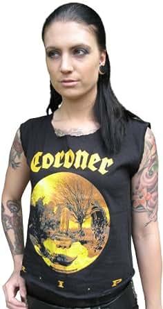 Coroner R.I.P. T-Shirt, M / Medium (o135)
