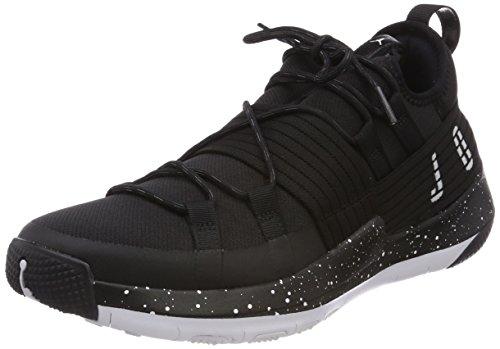 Nike Herren Jordan Trainer Pro Fitnessschuhe, Schwarz (Black/White-White 010), 45 EU (Jordan Schuhe 45)