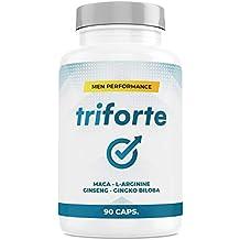 TRIFORTE Men Performance   Esperma + Potencia + Testosterona + Placer   90 Cápsulas